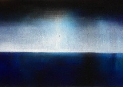 Blue II, 2018