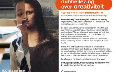 Dubbellezing over creativiteit, met Marcel Fraij
