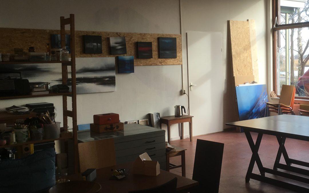 Nieuw atelier in februari 2019