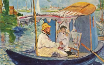 Monet Art Festival, 6 juli en plein air schilderen.