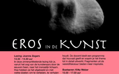Afgelast Eros in de Kunst, inspiratielezing FluXus met 2 workshops