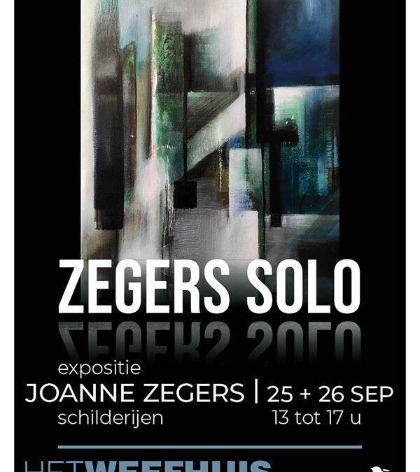 Soloexposite in Het Weefhuis 25 en 26 september