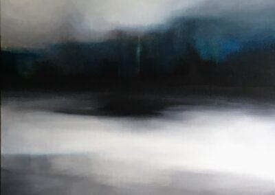Still Blue II, 2018
